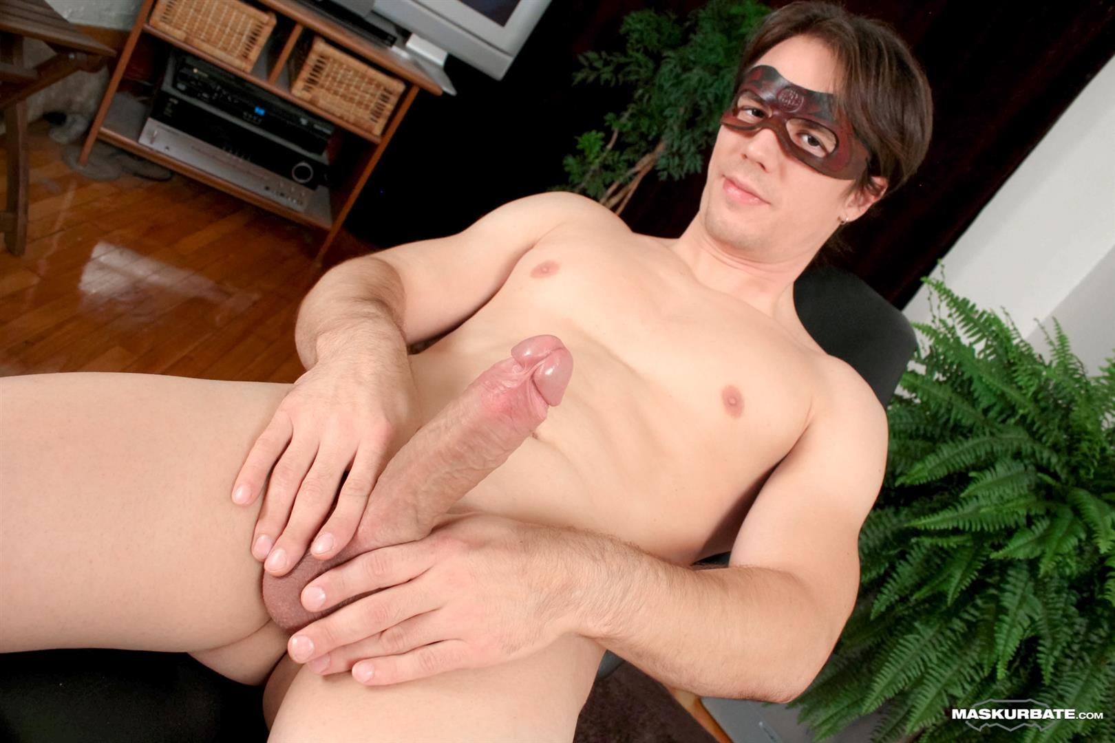 Maskurbate-Ricky-Big-Uncut-Cock-Jerk-Off-Anonymous-Amateur-Gay-Porn-13 Maskurbate Hunk Ricky Jerking Off His Huge Uncut Cock