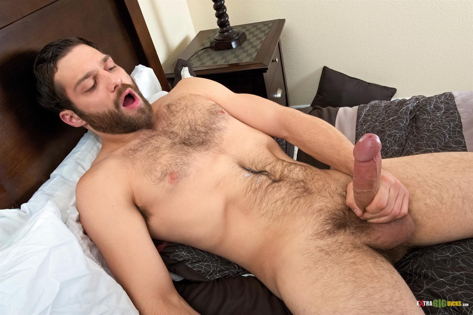 Naked hairy men jerking off big cock quality porn