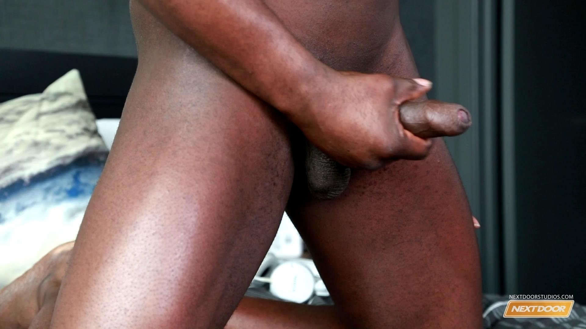 image His big black dicks fills her ebony throat