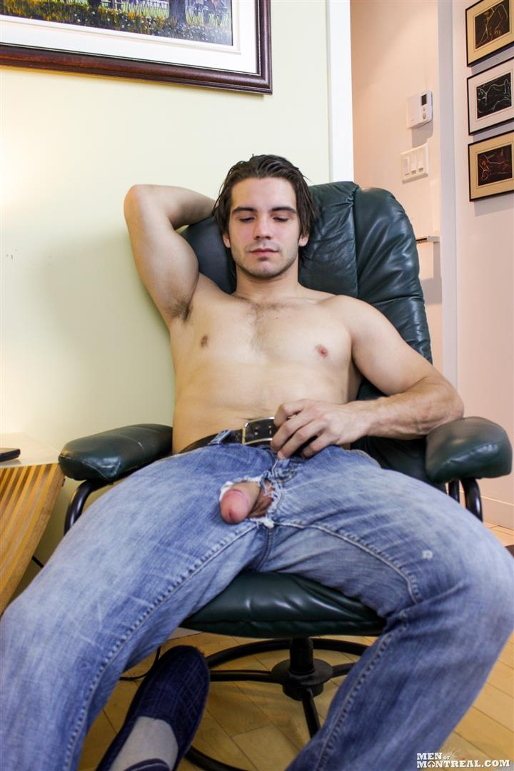 Men-of-Montreal-Mattice-LeRock-Canadian-Muscle-Hunk-Jerking-His-Big-Uncut-Cock-Amateur-Gay-Porn-08 Beefy Canadian Hunk Jerking Off His Big Uncut Cock