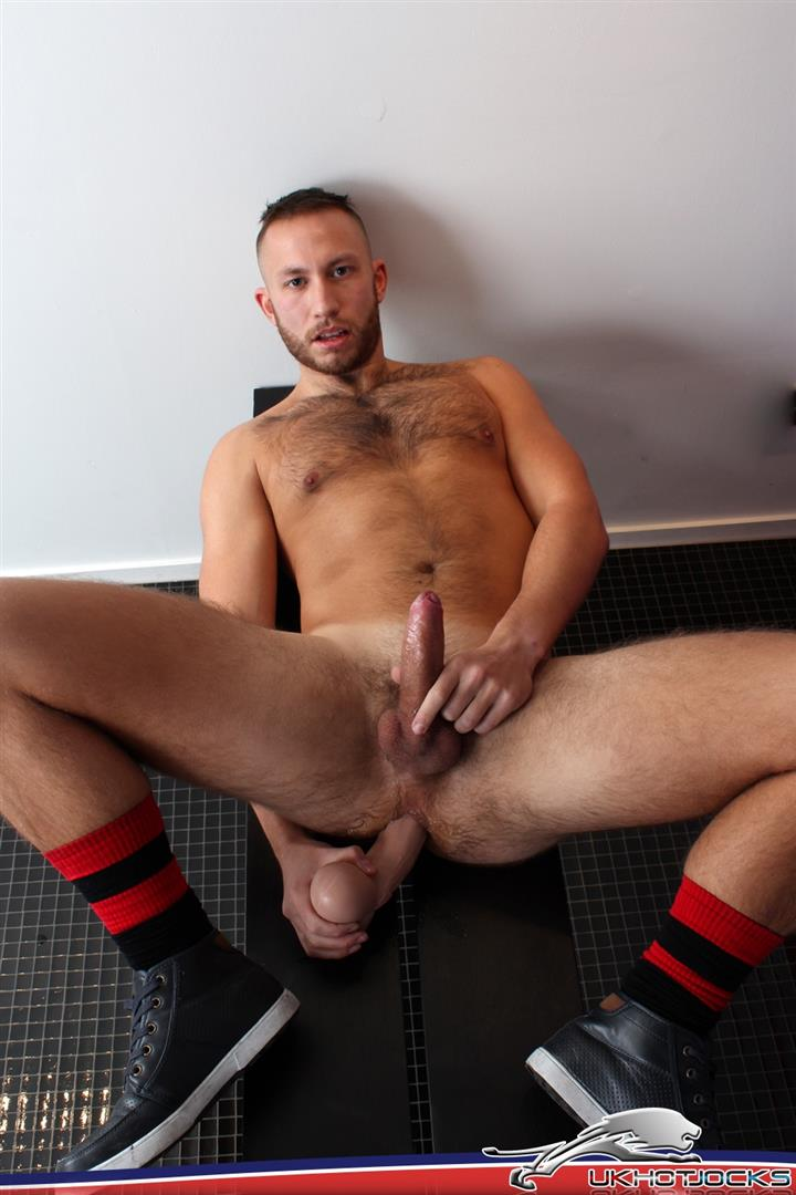 UK-Hot-Jocks-Brent-Taylor-Hairy-Muscle-Jock-With-A-Big-Uncut-Cock-Jerking-Off-Amateur-Gay-Porn-10 UK Hairy Muscle Jock Brent Taylor Jerking His Big Uncut Cock
