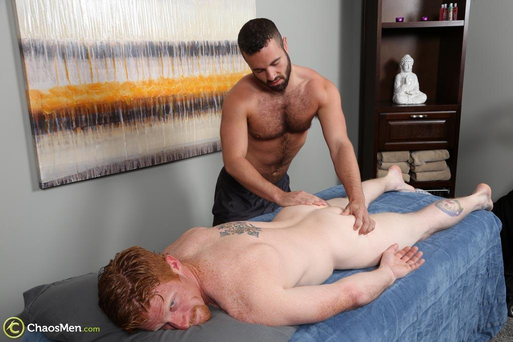 ChaosMen Noah and Aric Naked Redhead Gets Blowjob and Rimming Amateur Gay Porn 07 Straight Redhead Gets A Massage, Rimming and Blow Job From Another Guy