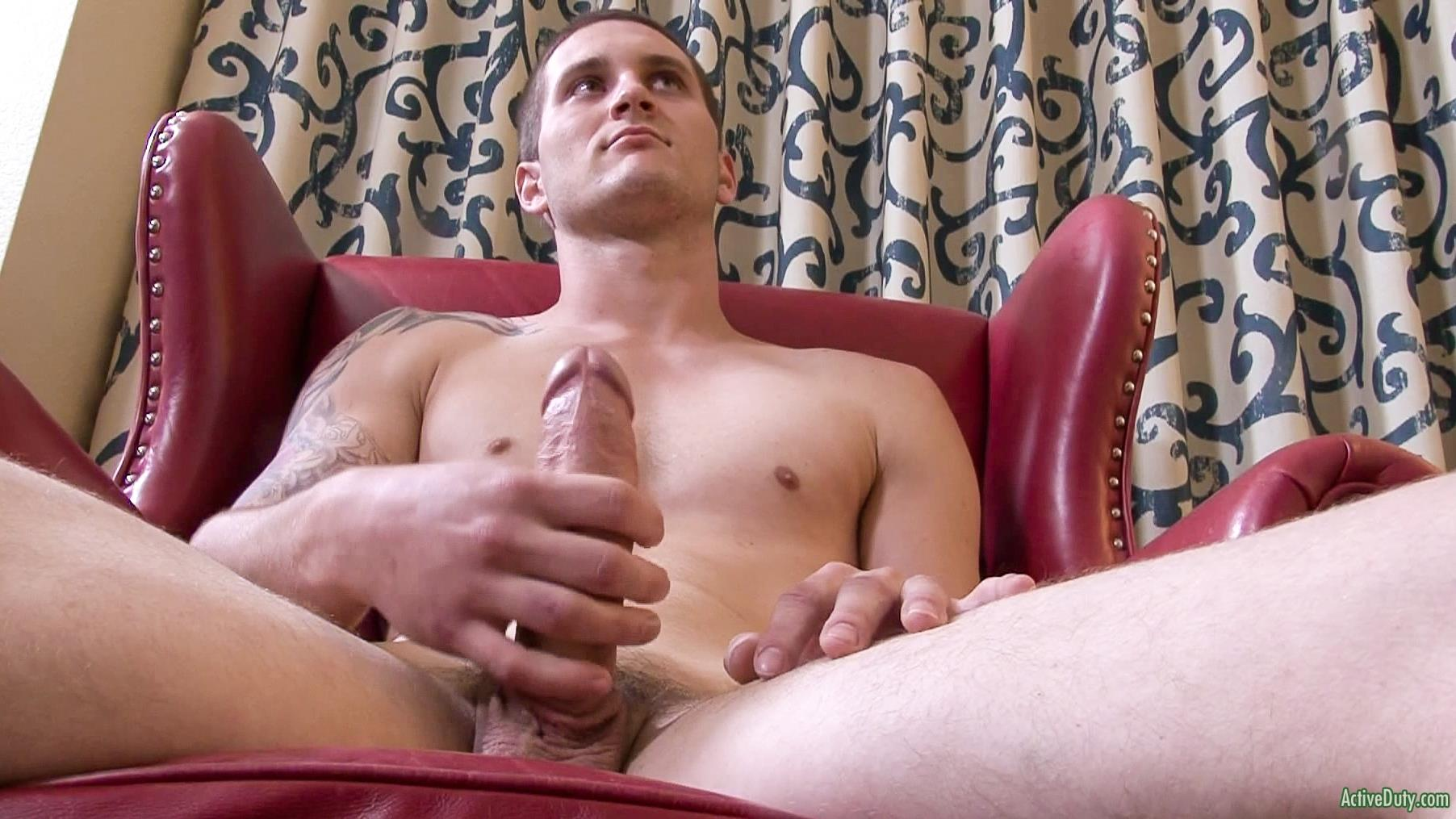 Active-Duty-Allen-Lucas-Army-Private-Jerking-Off-Big-Uncut-Cock-Amateur-Gay-Porn-08 US Army Private Jerking His Big Uncut Cock