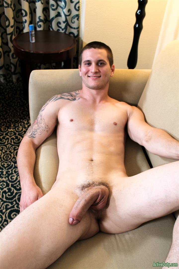 Active-Duty-Allen-Lucas-Army-Private-Jerking-Off-Big-Uncut-Cock-Amateur-Gay-Porn-15 US Army Private Jerking His Big Uncut Cock