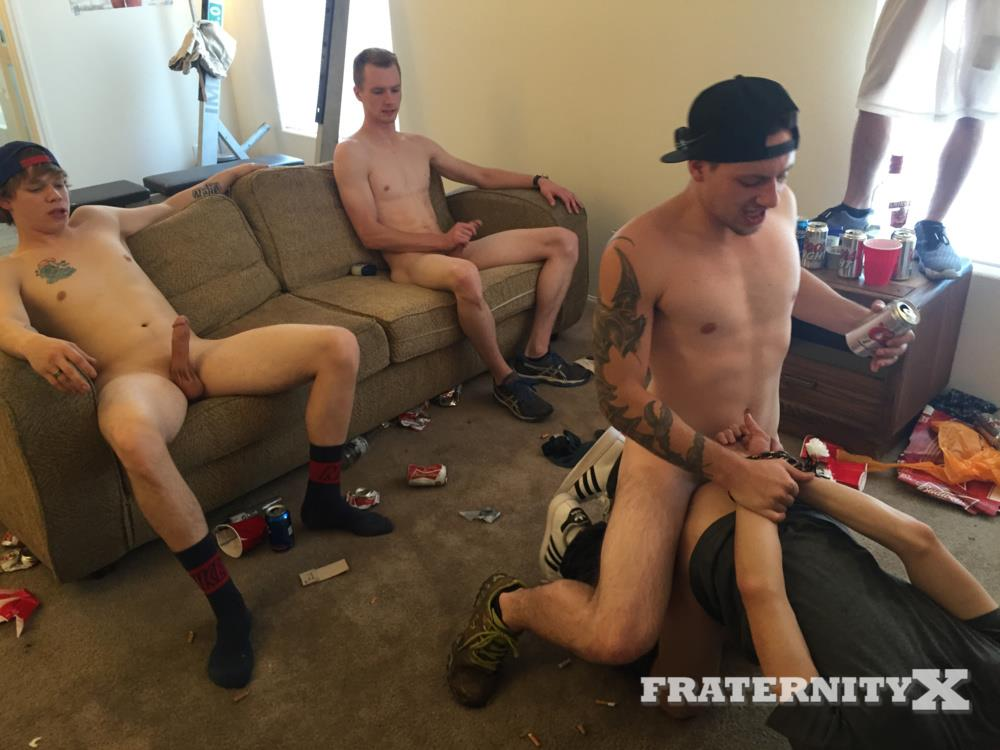 Fraternity X Naked College Jocks Bareback Sex Party Amateur Gay Porn 10 Fraternity Boys Bareback Gang Bang A Hot Freshman Ass
