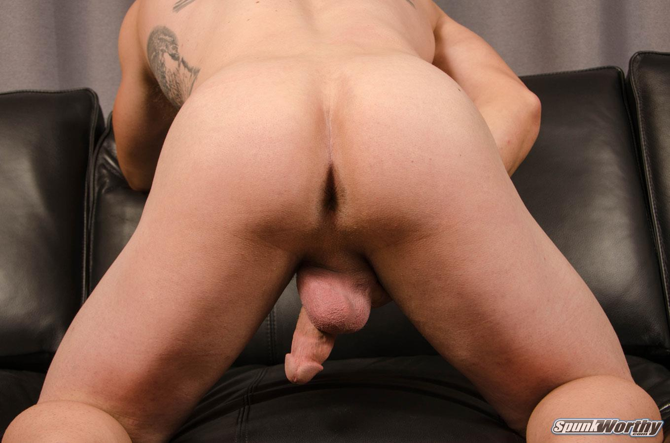 SpunkWorthy-Avery-Straight-Army-Soldier-Jerking-Off-Big-Cock-Amateur-Gay-Porn-13 Married Straight Muscular Army Soldier Jerking Off For Cash