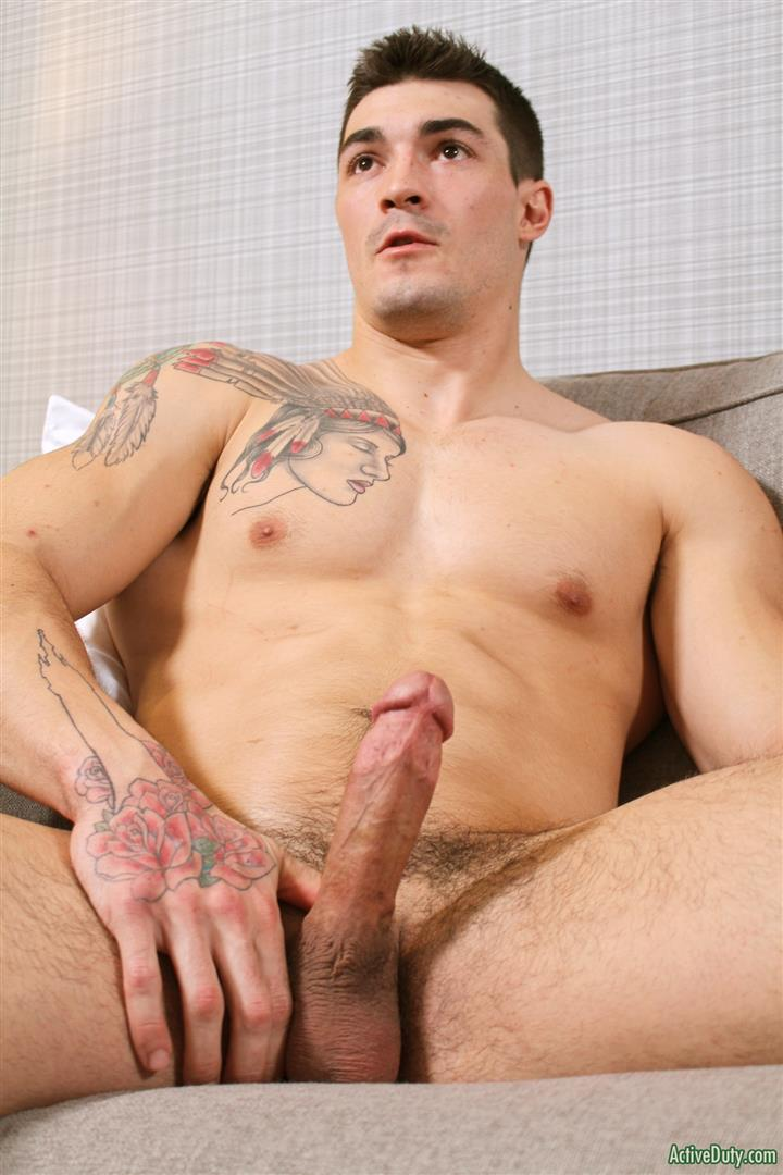 Hot buff jock gets ass banged hard
