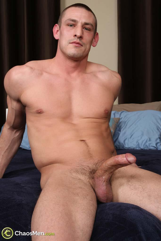 Chaosmen-Kirkland-Straight-Muscle-Hunk-Jerks-Big-Cock-Amateur-Gay-Porn-21 Straight Muscle Hunk Jerks His Big Dick When He Auditions For Gay Porn