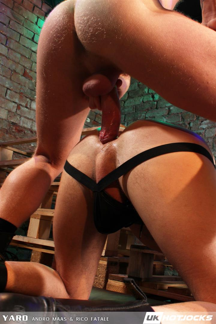 UK Hot Jocks Andro Maas and Rico Fatale Big Uncut Ginger Cock 23 Andro Maas Nails Rico Fatale With His Big Uncut Ginger Cock