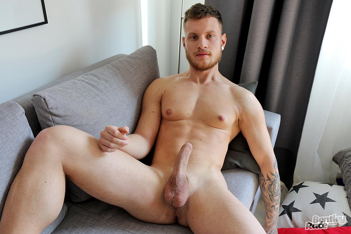 Bentley-Race-Christiano-Szucs-Naked-Hungarian-With-Big-Uncut-Cock-26 Hungarian Muscle Stud Jerks Off His Big Uncut Cock