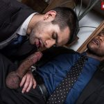 Lucas-Entertainment-Ty-Mitchell-and-Andre-Donovan-Big-Black-Cock-Bareback-Sex-12-150x150 Getting Fucked Raw By My Bosses Big Black Cock