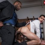 Lucas-Entertainment-Ty-Mitchell-and-Andre-Donovan-Big-Black-Cock-Bareback-Sex-13-150x150 Getting Fucked Raw By My Bosses Big Black Cock