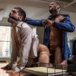Lucas-Entertainment-Ty-Mitchell-and-Andre-Donovan-Big-Black-Cock-Bareback-Sex-22-150x150 Getting Fucked Raw By My Bosses Big Black Cock