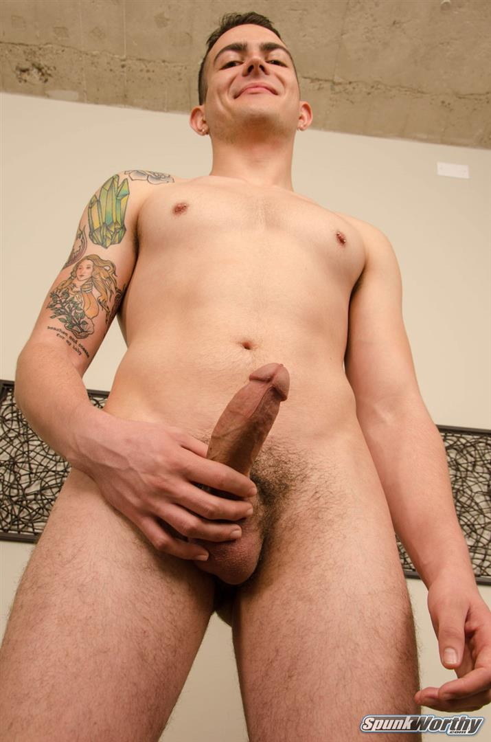 SpunkWorthy-Ryan-Kroger-Gay-Porn-Audition-Video-Jerk-off-09 Auditioning For Gay Porn And Jerking Out A Big Load Of Cum