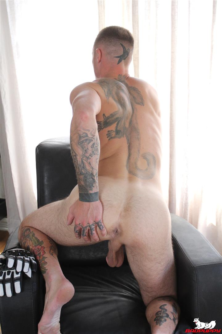 Badpuppy-Dane-Stewart-Naked-Tattoo-Stud-Jerking-Off-His-Big-Cock-Video-10 Big Dick Tattoo Artist Dane Stewart Jerks Off His Big Cut Cock